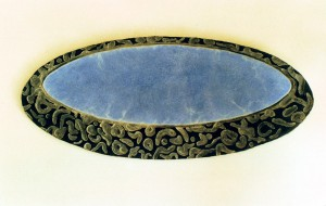 Wandobject Josje van Doorn 1989, Zand, cement